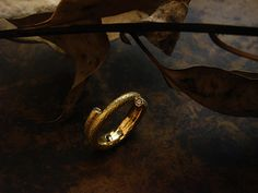 [Ancient Delusion : 012] Ring-K18YG/Diamond 0.04ct