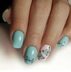 Nail Art Designs Images, Nail Designs, Stylish Nails, Trendy Nails, Gorgeous Nails, Love Nails, Nail Manicure, Gel Nails, Mani Pedi