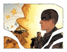 Mad Max - Fury Road by Declan Shalvey, colours by Jordie Bellaire *