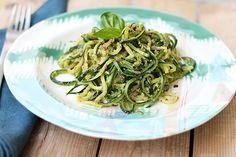 Zucchini Noodles - Vegan & Gluten-free, Raw option