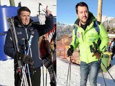 I due Matteo, Renzi e Salvini sciano su percorsi paralleli