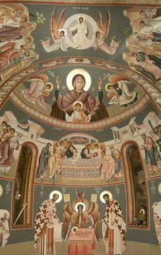 Byzantine Icons, Byzantine Art, Christian Church, Christian Art, Church Icon, Triomphe, Orthodox Christianity, Orthodox Icons, Sacred Art