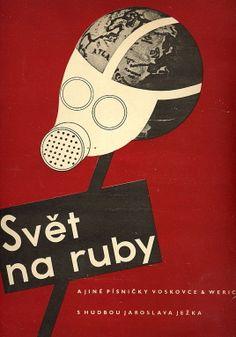 Music book cover, Czechoslovakia, 1936