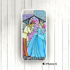 Cinderella Inspired Stained Glass iPhone 6 5/5s 4s 5c caseby signaturecase