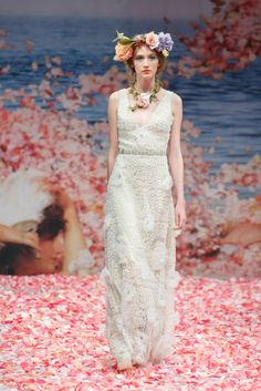 2013 wedding dress by Claire Pettibone 'An Earthly Paradise' bridal collection via @OneWed - Photo:   @Syed SYPhotography