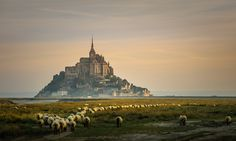 Mont St-Michel by Rudy Denoyette, via 500px