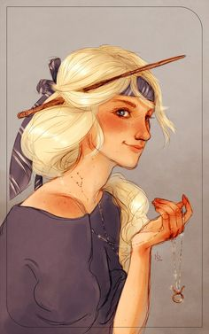 Victoire Weasley (taurus ~ stubborn and lazy, sensual and ambitious from what I've heard x)) for the Harry Potter zodiac project that you can check out here (a lot of cool artists! ) We drew ...