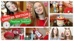 Quick and Easy Limited Edition Treats + Pringles Taste Test  #pringles #food #snacks #christmassnacks #christmastreats #holiday #holidaysnacks #easy #quick