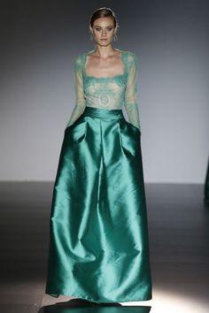 Vestidos de fiesta verdes 2016: Resalta tu belleza en la próxima boda Image: 3