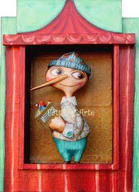Pinocchio, Paper Cutting, Fairy Tales, Dolls, Disney Characters, Prints, Painting, School Ideas, Diamonds