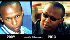 Wilson Mburu BEFORE and AFTER Look here is the difference you will never see. | The Urban Kenyan