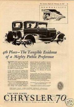 Chrysler 70 Car (1927)