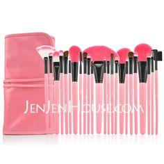 Makeup Supply - $25.99 - Professional Makeup Brushes With Pink Bag(24 Pcs ) (046024421) http://jenjenhouse.com/Professional-Makeup-Brushes-With-Pink-Bag%EF%BC%8824-Pcs-046024421-g24421