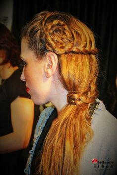 A great long hairstyle.