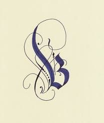 """Brought to you by the letter """"B"""". #typography #script repinned by DesignHandbook.net"""