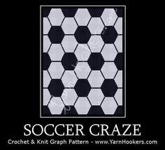 (4) Name: 'Crocheting : Soccer Craze - Graph Chart