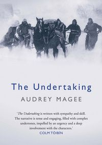 """The Undertaking by Audrey Magee. Natalie says """"The harsh realities of the Second World War are easier to swallow when the facts become a backdrop to the human stories. This is a story of misguided love and hope against the odds and will appeal to fans of The Reader and The Book Thief. A book definitely worth taking on."""""""