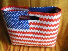 Americká vlajka, Papierové tašky - inšpirácie a nápady. Z dílků 2,5*11