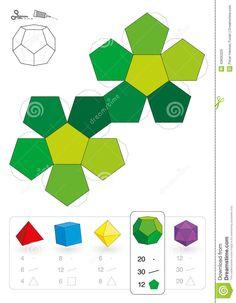 Manualidades- Dodecaedro papel