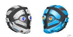 metal helmet futuristic - Google Search