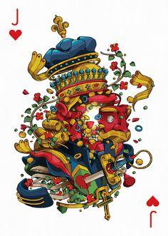 Playing Arts: diseño colectivo de barajas de cartas 9