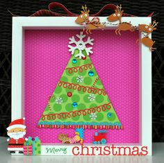 The Purple Pumpkin Blog: 12 Ideas for Christmas Shadow Boxes
