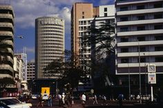Hilton and New Stanley Hotels, Nairobi, Kenya
