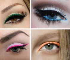 Makeup: Colored eyeliner pencils from Mikyajy