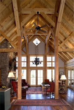 At Mill Creek, we build the finest timber frame homes and buildings combining the very best of old woodworking, joinery and modern technology.