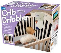 WTF lolll For the tired parent: Crib Dribler baby self feeding system » Bob's Blitz