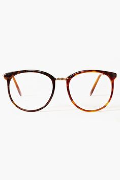 f8f1fe846ba Nasty gal Ivy League Glasses Tortoise in Brown (gold) Lyst