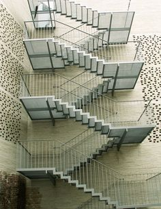 kolumba art museum - cologne - peter zumthor - 2007 - stair
