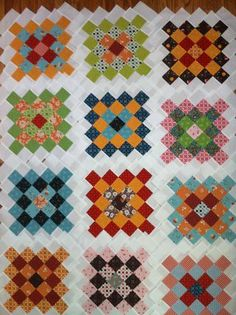 Great-Granny square quilt along