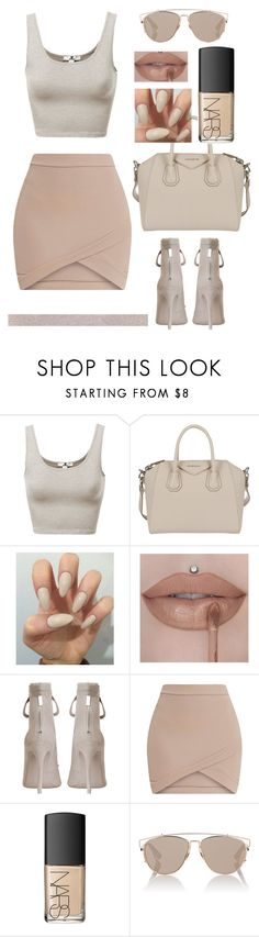 """""""Untitled #421"""" by blacksoul10 ❤ liked on Polyvore featuring NARS Cosmetics, Givenchy, Zimmermann, Gabriella and Christian Dior"""