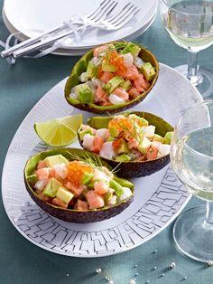 Fisch-Tatar mit Avocado