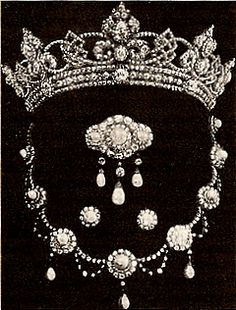 From Her Majesty's Jewel Vault: Queen Alexandra's Wedding Parure