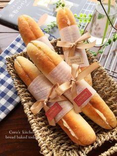 「見た目も可愛い☆ミルキーフランスパン」あゆ | お菓子・パンのレシピや作り方【corecle*コレクル】