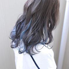 ❣︎「@kimmiecla✌︎」❣︎ Hair Color Streaks, Ombre Hair Color, Hair Highlights, Korean Hair Color, Multicolored Hair, Aesthetic Hair, Coloured Hair, Gorgeous Hair, Hair Looks