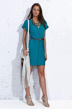 Wrap Dress - Verão 2014-15 Moikana  #summerdresses #dvf #vestidos