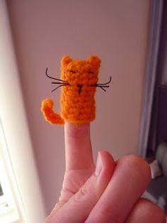 Sheep Dog's Fleece: finger puppets