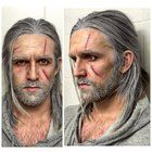 [Self] Hey guys! Wanted to share my first hair/makeup trial for a Geralt of Rivia cosplay I'm working on! Aiming to have it done for Brisbane's Supanova in November. I'm already aware that the hair and eye colour are a bit off other than that any constructive criticism is welcome!