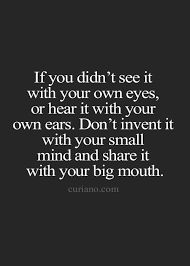 Image result for quotes about gossip