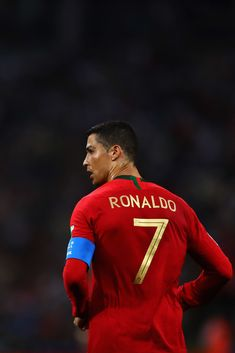 Cristiano Ronaldo Photos - Cristiano Ronaldo of Portugal in action during the 2018 FIFA World Cup Russia group B match between Portugal and Spain at Fisht Stadium on June 2018 in Sochi, Russia. Spain: Group B - 2018 FIFA World Cup Russia Ronaldo Madrid, Cristiano Ronaldo Portugal, Cristino Ronaldo, Ronaldo Jersey, Cristiano Ronaldo Juventus, World Best Football Player, Football Is Life, Soccer Players, Real Madrid