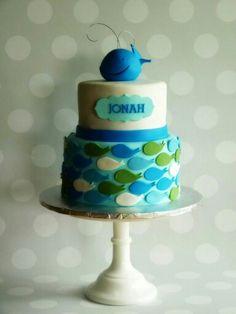 Whale theme cake #whales #mimissweetcakesnbakes #birthdaycake