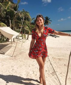 Trendy Ideas For Summer Outfits : Sabina Socol. Trendy Ideas For Summer Outfits : Sabina Soc Cute Dresses, Cute Outfits, Summer Dresses, Vintage Dresses, Spring Summer Fashion, Spring Outfits, Summer Outfits For Vacation, Beach Holiday Outfits, Vacation Fashion