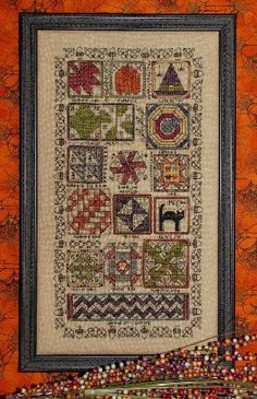 Halloween Quilt Sampler by Rosewood Manor - Cross Stitch Kits & Patterns