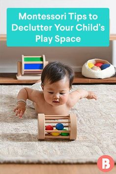 Rooted in the Montessori idea of having external order to create internal order. Toy Display, Playroom Organization, Toy Trucks, Nursery Design, Baby Furniture, Old Toys, Fine Motor, Nursery Ideas, New Moms