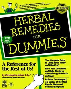 Herbal Remedies For Dummies:Book Information - For Dummies