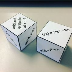 Editable Function Operations Dice. In Algebra 2 we needed a hands-on activity to keep everyone engaged. It was May, seniors were leaving soon and my juniors were all rapidly contracting their own little cases of senioritis. In May we were learning function operations and my students needed practice that didn't feel like practice.