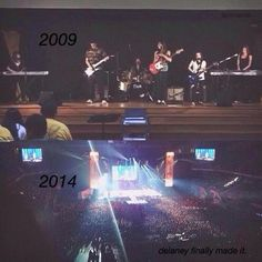 From Delaney to Million Bucks to Made In America to Renegade. Wow, time flies when you're fangurling